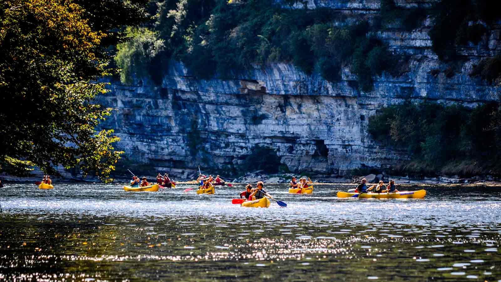 Vallée de la Dordogne location Canoë