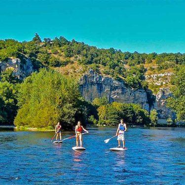 Camping Stand up paddle vallée de la Dordogne
