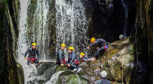 canyoning dans le Lot