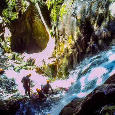 Canyoning vallée de la Dordogne
