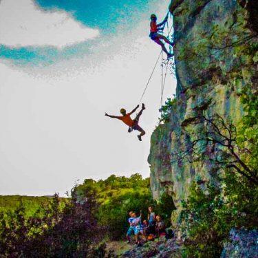 Escalade vallée de la Dordogne
