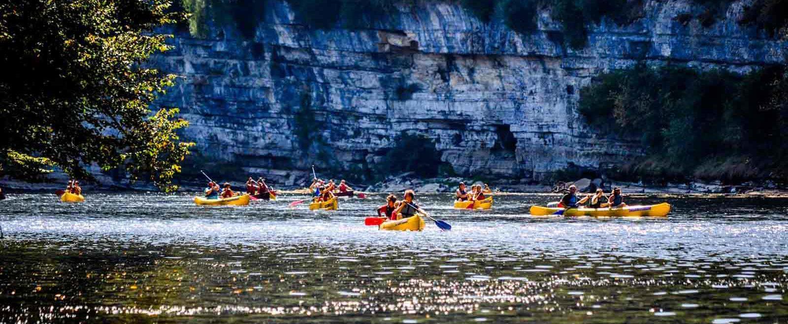 location canoe Vallée Dordogne