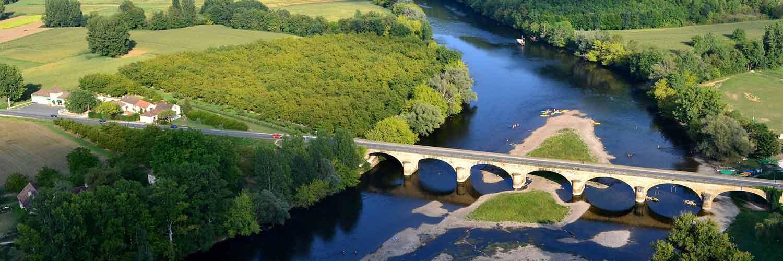 cours d'eau de la Dordogne